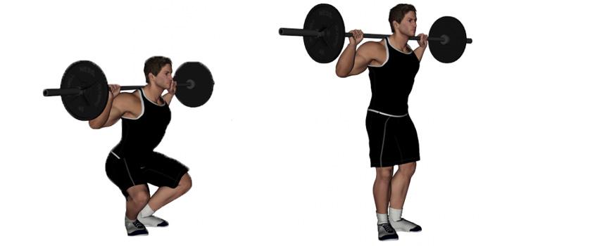 Narrow Stance Squats