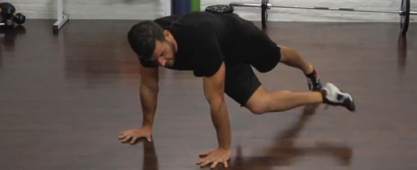 plancha entrenar abdominales