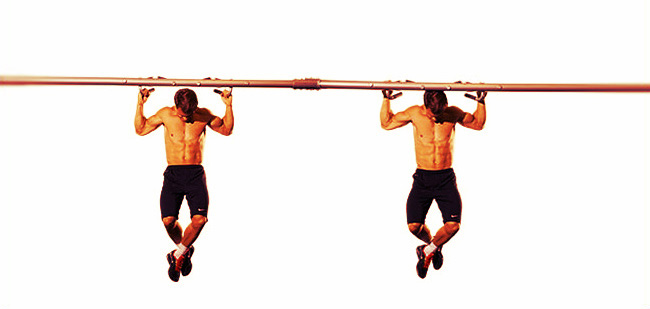 Image result for WIDE-GRIP PULL-UP BEHIND THE HEAD