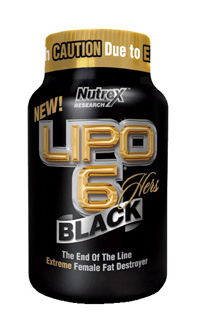 Lipo 6 Black Hers Thermogenic Fat Burner by Nutrex