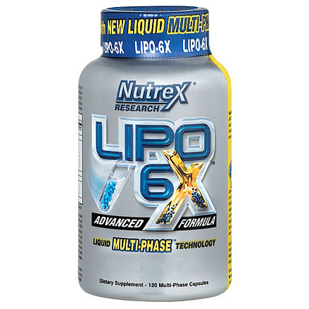 Lipo 6X Thermogenic Fat Burner by Nutrex