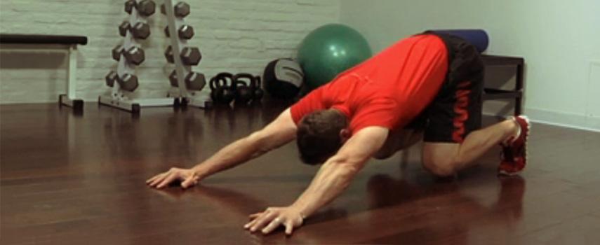 flexiones invertidas; abdominales