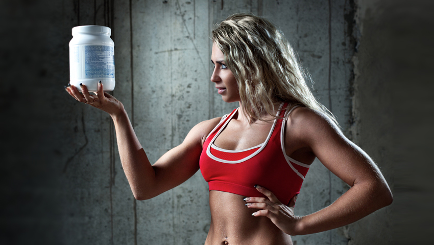 fit girl, whey