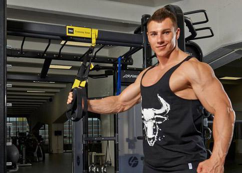 Daniel Gildner training