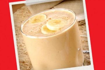 Snack Pós-treino – Smoothie de Chocolate e Manteiga de Amendoim