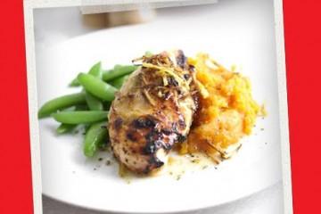 Pasti Post Allenamento : Pollo con Puré di Patate Dolci