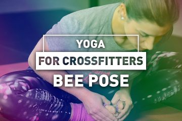 Yoga for crossfitters: Bee pose