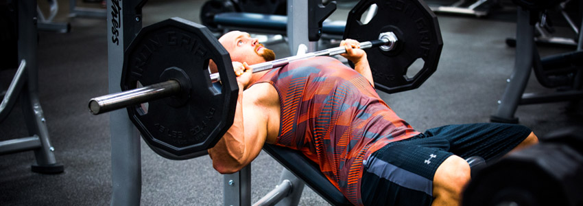 Inclined-barbell-benchpress