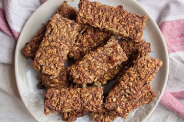 Fitness Recipe: Granola Almond Butter Protein Bars