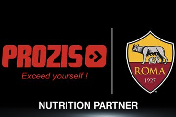 PROZIS is the new nutrition partner of AS Roma