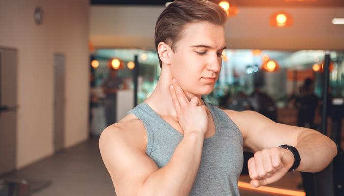 Pulsação no pescoço
