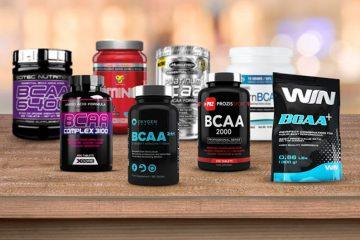 Quais são os melhores suplementos de BCAA?