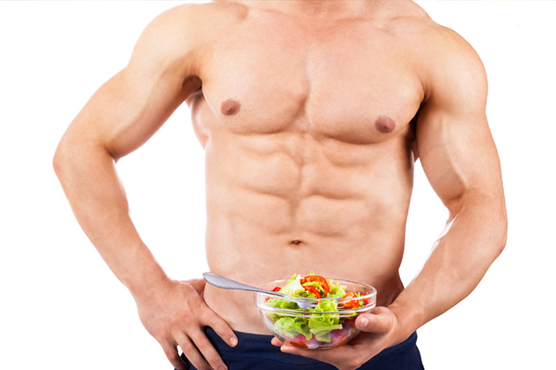 Advanced diet program to build muscle and gain definition