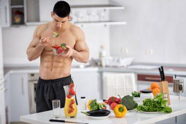 Zwischen-Diätplan zum Muskelaufbau