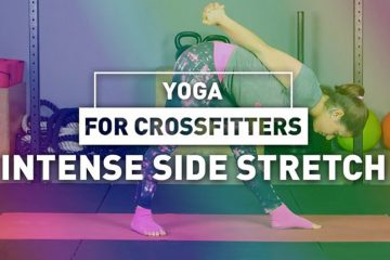 Yoga for crossfitters: Intense side stretch