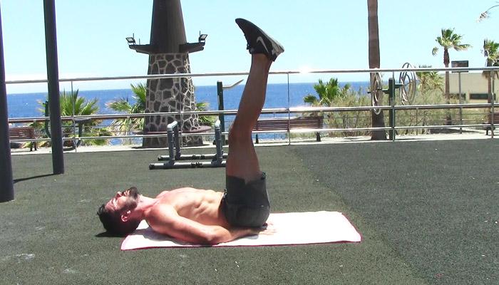 Floor leg raises - Body definition