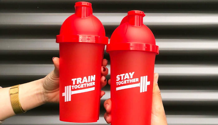 prozis train together stay together shakers