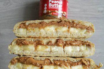 Recette de pancakes facile au beurre de cacahuète et à la banane