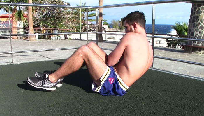 Russian twists - Exercises for abs