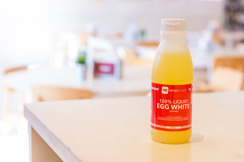 Liquid egg white Prozis
