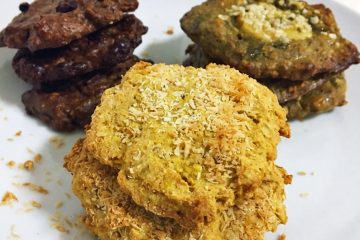 Fitness recipe: fit oat cookies with nuts