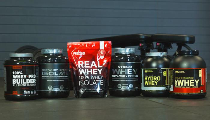 Quali sono le migliori proteine whey prozis