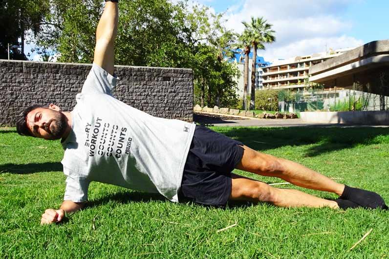 Buikspieroefeningen: crunches versus plank