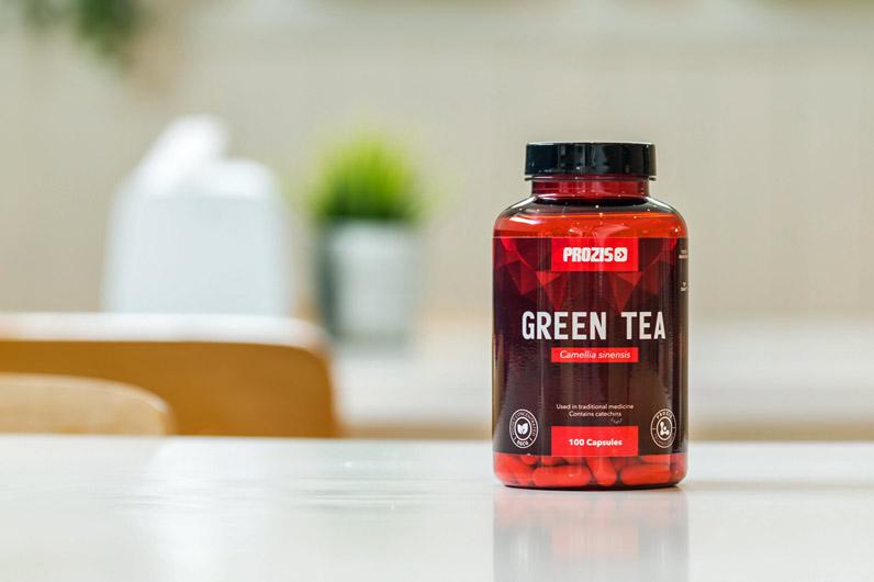 Suplemento chá verde Prozis