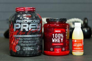 Proteína de carne vs. proteína whey vs. proteína de ovo: Qual é a melhor?