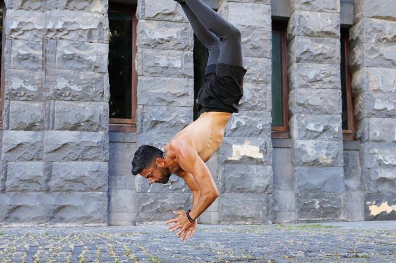 Calistenia: Rutina de ejercicios de Yerai Street Workout