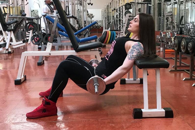 Aurelia Bissoli esercizi per i glutei