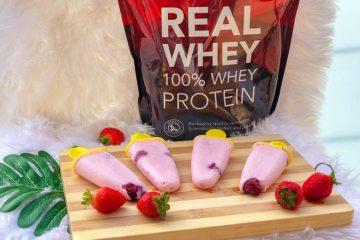 Cómo hacer helado casero con proteína de leche