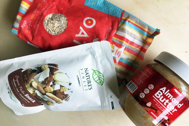 Ingredientes para preparar papas de aveia
