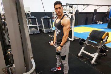 Exercícios para braços: puxada para tríceps