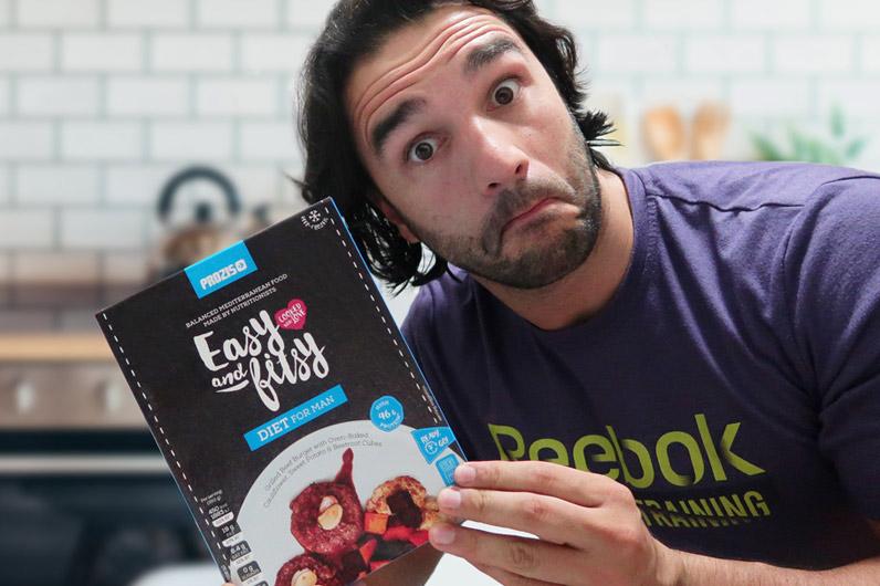 Review Easy and Fitsy: Bruno Salgueiro avalia as novas refeições prontas