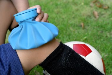 lesões desportivas: quando usar gelo ou calor