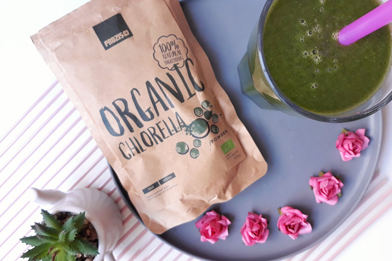 Batidos verdes: organic chlorella