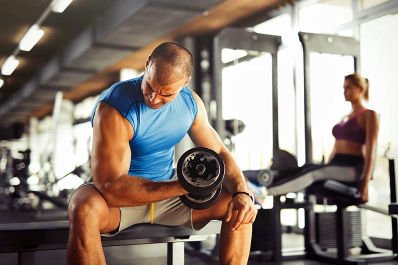 Plano de treino de biceps intermédio