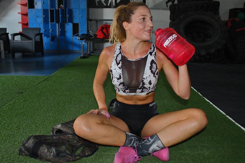 Zaida Sánchez: accesorios para el gym