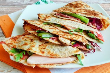 Cosa mangiare per dimagrire: Piadina senza olio
