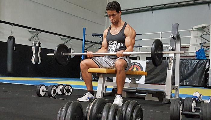 Musculação: Plano de treino de bíceps - Nível Intermédio