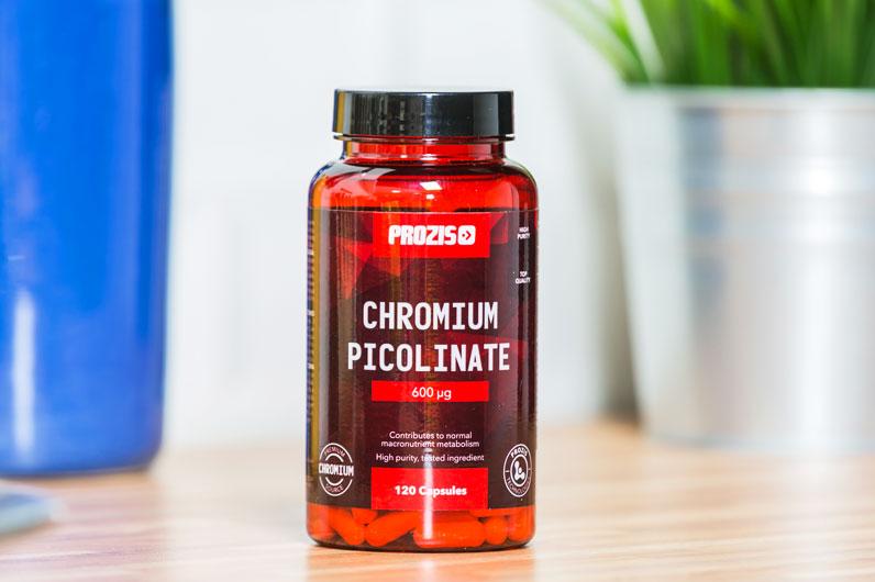 Picolinato de crómio - o suplemento alimentar para controlar o apetite