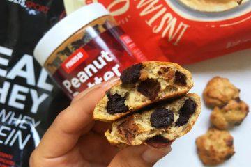 Recette de cookies protéinés au beurre de cacahuète