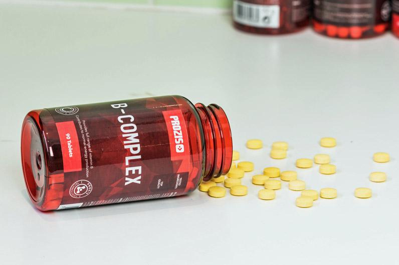 Vitaminas do complexo B dão-te energia para treinos mais intensos