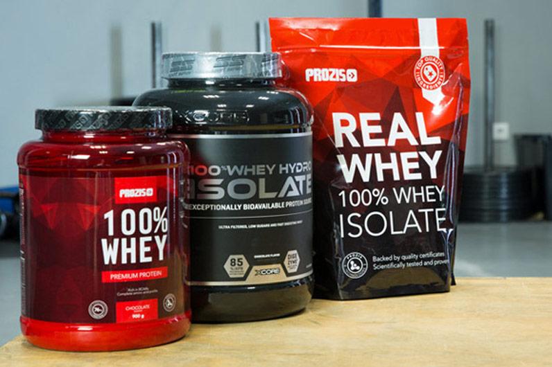 Suplementos de proteína Prozis
