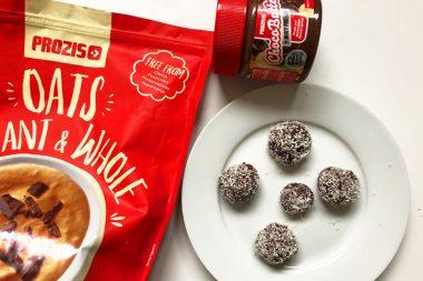 Recette riche en protéine : Truffes au chocolat - Prozis