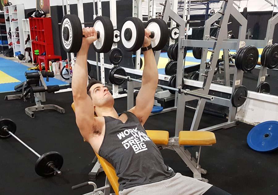 Bodybuilding: Programma di allenamento pettorali per principianti