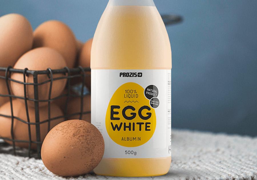 Egg white (albumina) Prozis