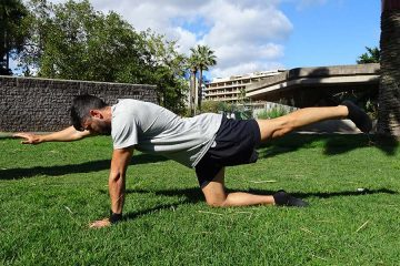 Ab exercises: crunches vs. plank