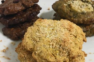 Biscotti all'avena con frutta secca – Ricette sane